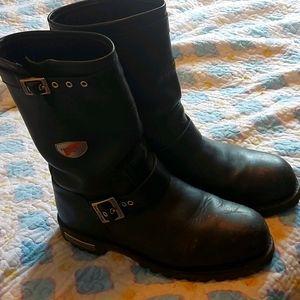 Men's biker boots